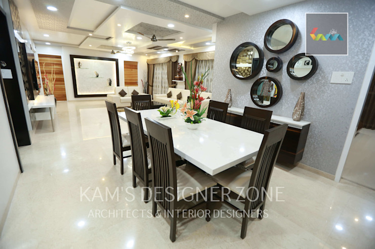 Dinning Area Classic style dining room by KAM'S DESIGNER ZONE Classic