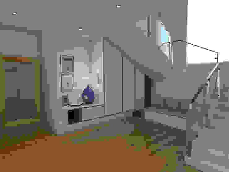 Koridor & Tangga Modern Oleh The Spacealist - Arquitectura e Interiores Modern