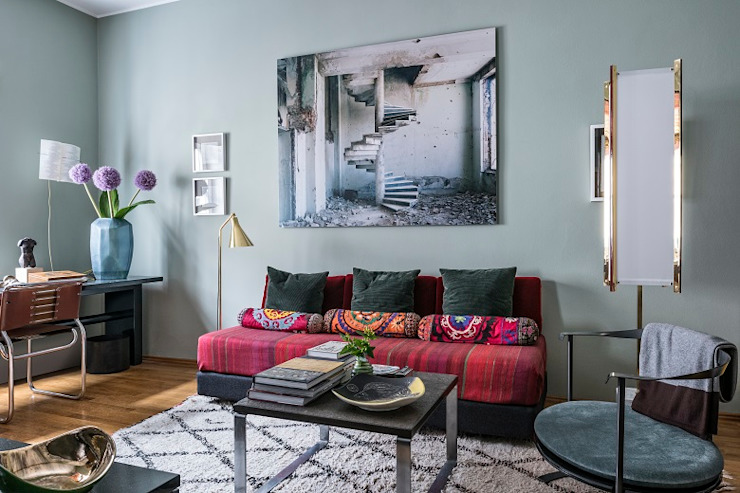 Couch tredup Design.Interiors Modern Living Room