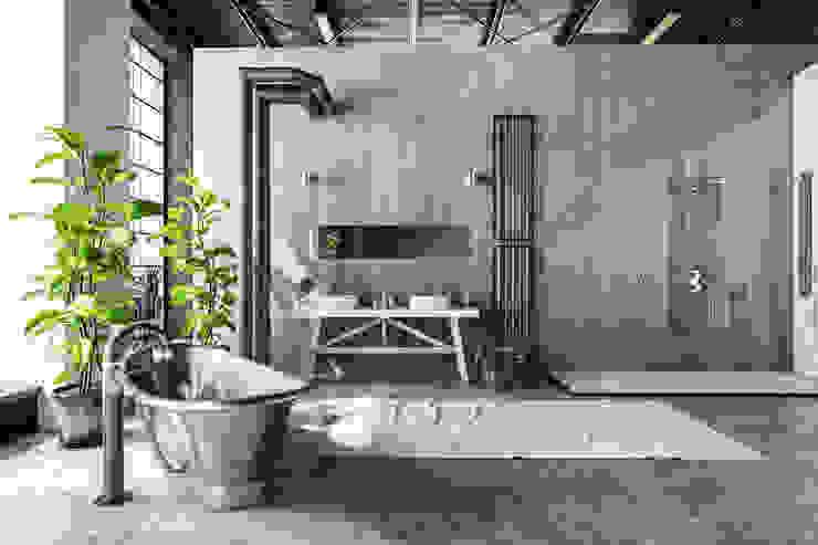 Phòng tắm bởi homify Công nghiệp