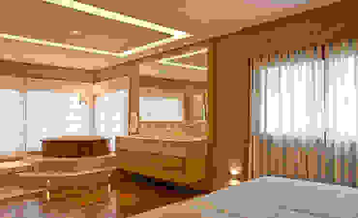 Phòng ngủ by MACHADO DE ALMEIDA ARQUITETURA E INTERIORES