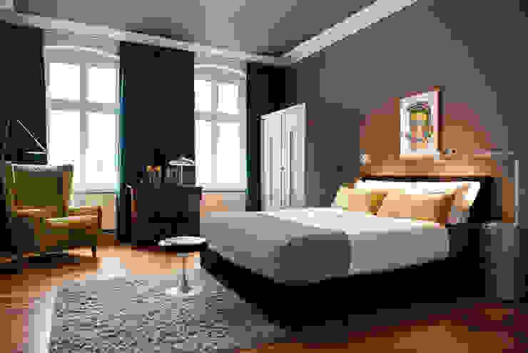 غرفة نوم تنفيذ THE INNER HOUSE, حداثي