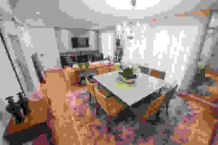 Comedores de estilo moderno de Factus Arquitetura Planejamento Interiores Moderno
