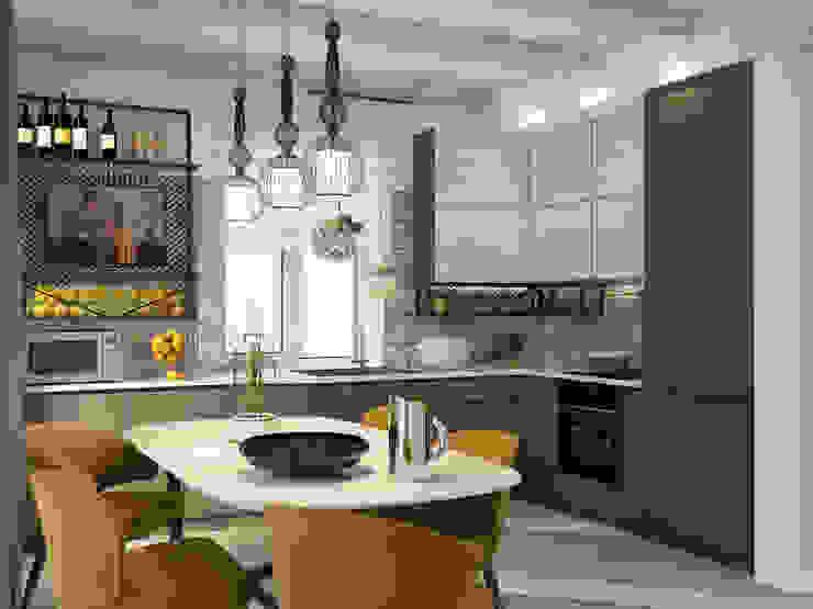 Юлия Максимук Industrial style kitchen