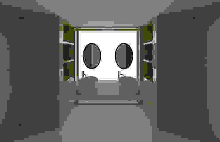 Baño remodelación vivienda Baños modernos de Madera de Arquitecto Moderno