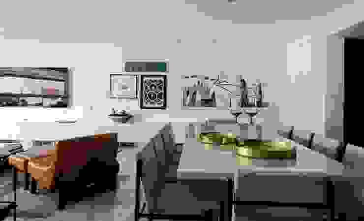 Wohnzimmer von arquitetaspe