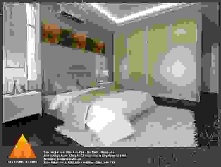 Phòng ngủ Phòng ngủ phong cách hiện đại bởi homify Hiện đại
