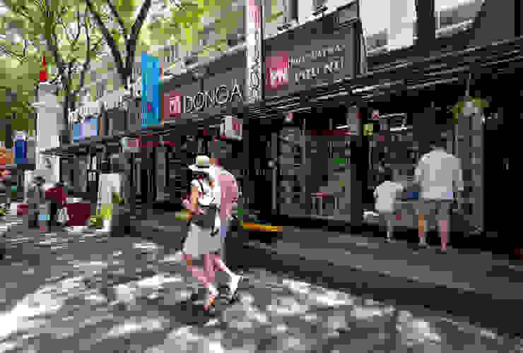HCM CITY BOOK STREET ON NGUYEN VAN BINH STREET bởi TA LANDSCAPE ARCHITECTURE Kinh điển