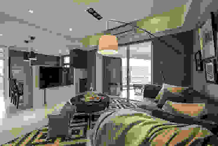 客廳 根據 存果空間設計有限公司 鄉村風