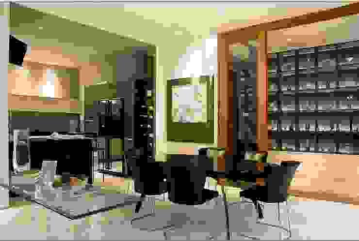 Modern kitchen by E&U Modern Concrete