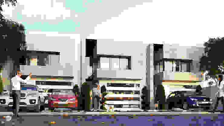 Rumah Modern Oleh 3h arquitectos Modern Batu