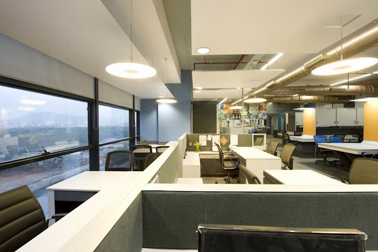 Office Spaces by Studio - Architect Rajesh Patel Consultants P. Ltd Modern