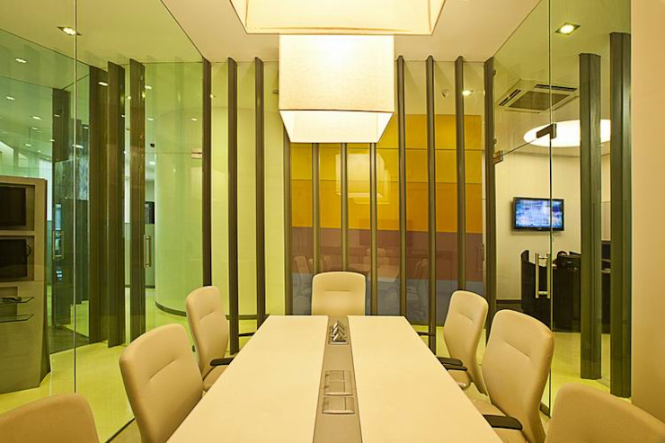 Conference/ Meeting Room Studio - Architect Rajesh Patel Consultants P. Ltd Commercial Spaces