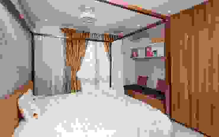 Guest Bedroom Modern style bedroom by Vivek Shankar Architects Modern Wood Wood effect