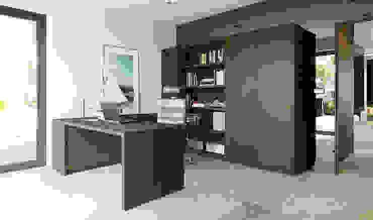 Study/office by HomeKONCEPT | Projekty Domów Nowoczesnych