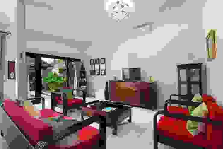 Living Room Oleh Credenza Interior Design Asia