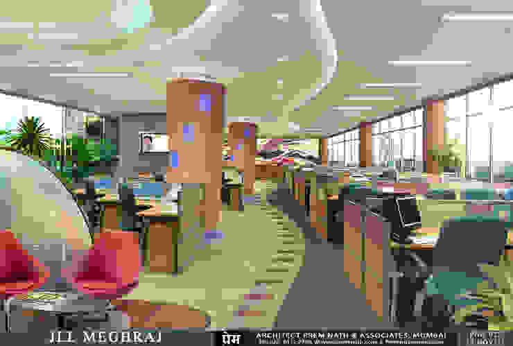 Corporate Interiors for JLL Meghraj, Mumbai by Prem Nath And Associates