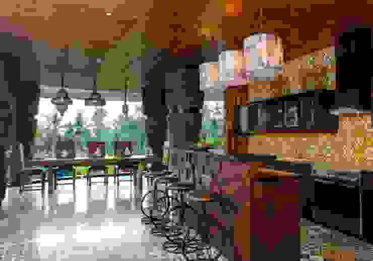 Credenza Interior Design ห้องครัวโต๊ะและเก้าอี้