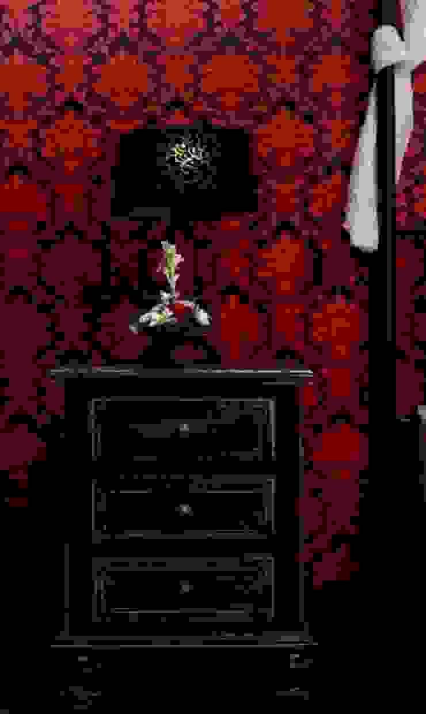 Credenza Interior Design ห้องนอนโต๊ะหัวเตียง