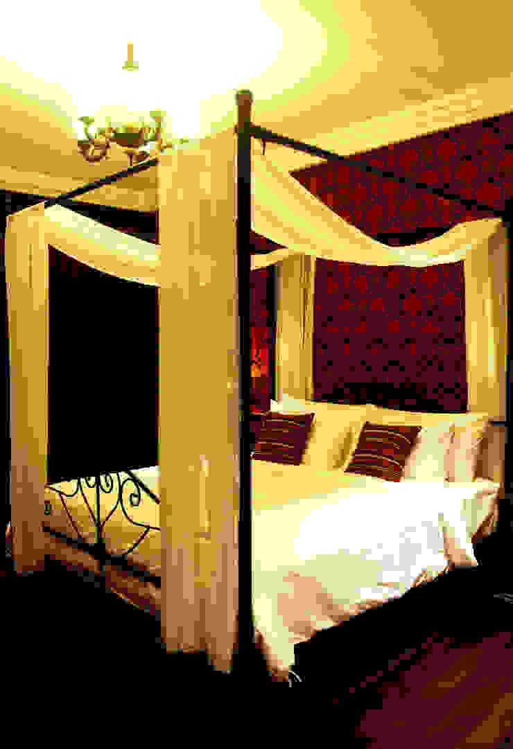 Credenza Interior Design ห้องนอนเตียงนอนและหัวเตียง
