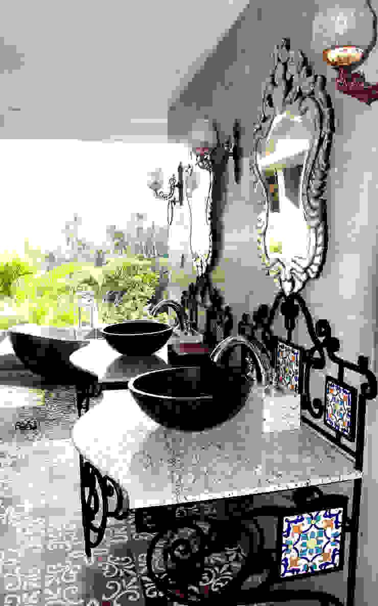 Credenza Interior Design ห้องน้ำของตกแต่ง Black