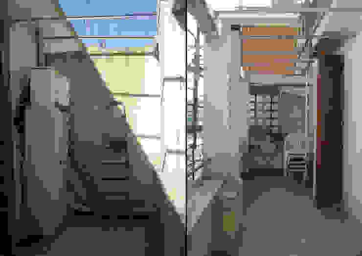 Modern style balcony, porch & terrace by EMC2Architetti Modern