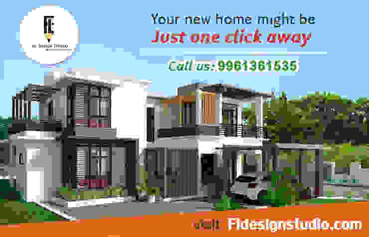 Residence for Mr. Kiran at Thalassery By FL Design Studio by FL Design Studio | Fastline projects pvt ltd
