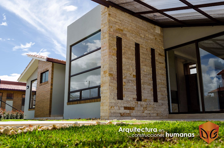 DG ARQUITECTURA COLOMBIA Single family home Stone
