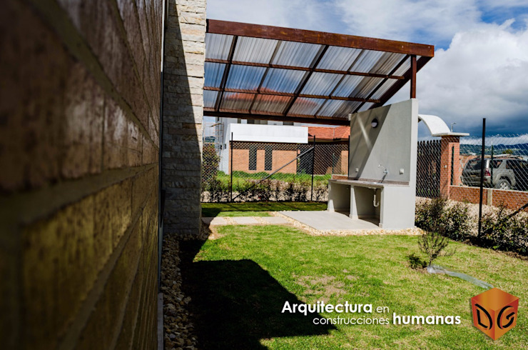 Modern garden by DG ARQUITECTURA COLOMBIA Modern Copper/Bronze/Brass