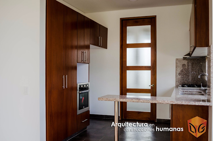 Modern kitchen by DG ARQUITECTURA COLOMBIA Modern Wood Wood effect