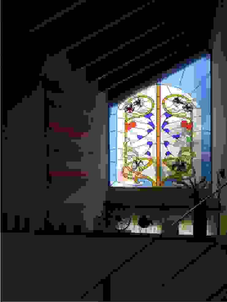 Duplex calle Centenario, vitral Salones de estilo clásico de Dario Basaldella Arquitectura Clásico