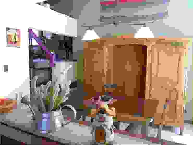 Dario Basaldella Arquitectura Living room Beige