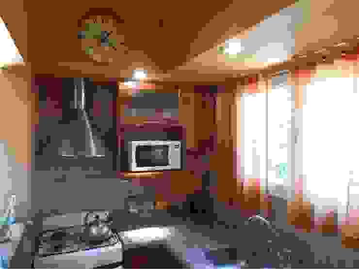 Dario Basaldella Arquitectura Kitchen Beige