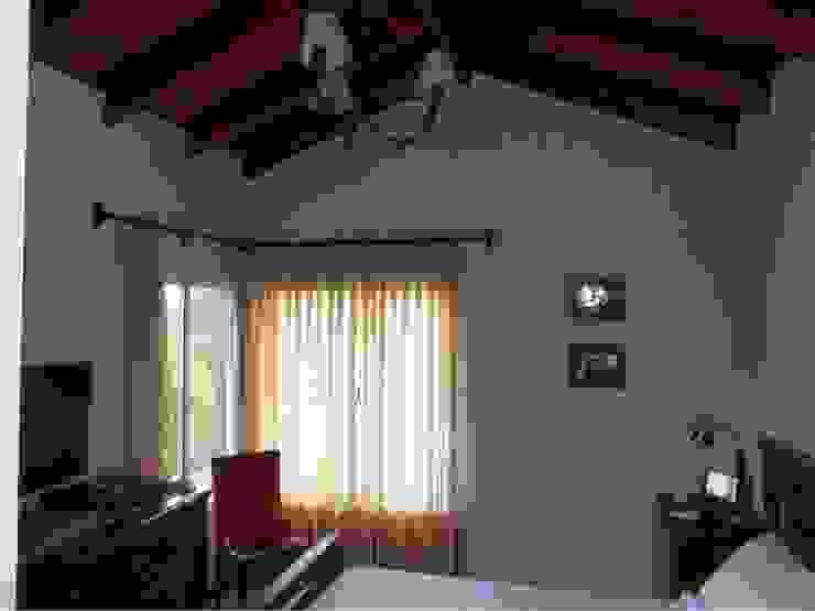 Dario Basaldella Arquitectura Klasyczna sypialnia Beżowy