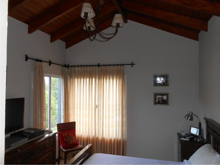 Dario Basaldella Arquitectura غرفة نوم Beige