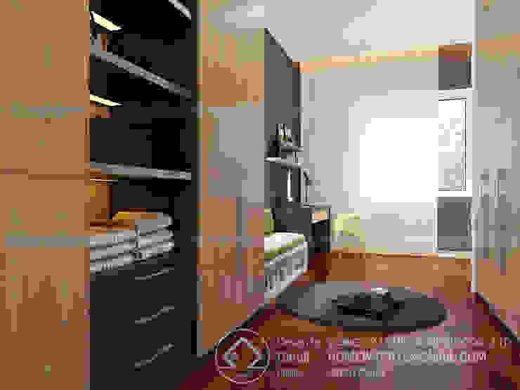 Phòng ngủ Phòng học/văn phòng phong cách hiện đại bởi HOMEWAY Hiện đại