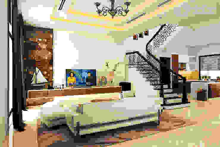 Phòng khách bởi HOMEWAY Hiện đại