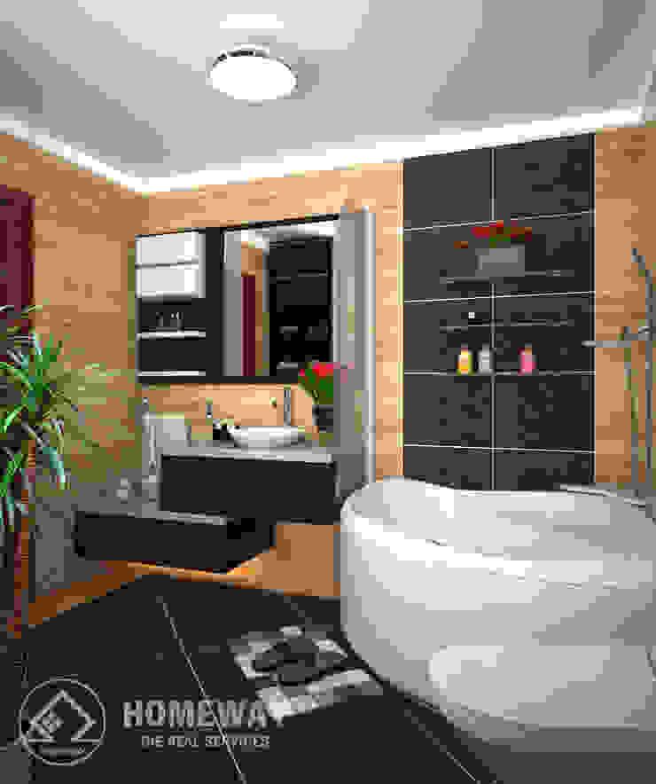 Phòng tắm Phòng tắm phong cách hiện đại bởi HOMEWAY Hiện đại