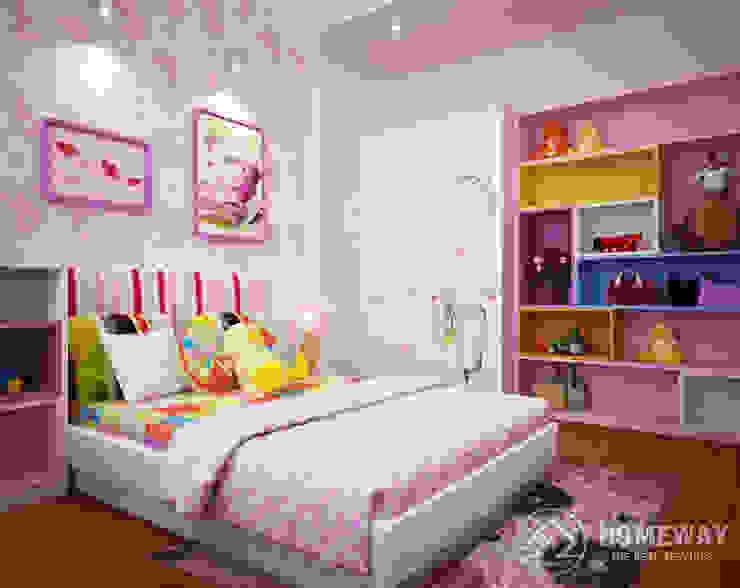 Phòng ngủ trẻ em Phòng trẻ em phong cách hiện đại bởi HOMEWAY Hiện đại