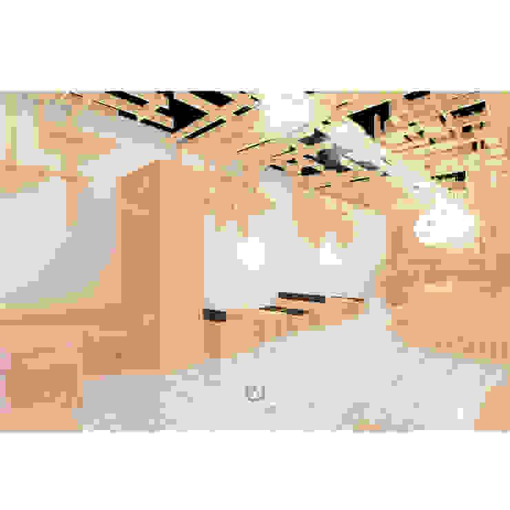 Cafeeiro 02 Ruang Komersial Gaya Eklektik Oleh Studio AKU Eklektik Kayu Wood effect