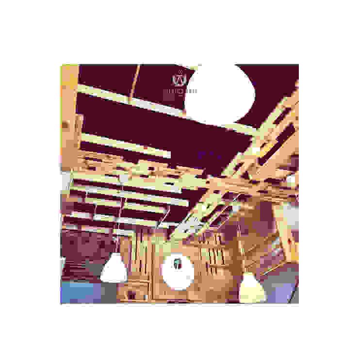 Cafeeiro 09 Ruang Komersial Gaya Eklektik Oleh Studio AKU Eklektik Kayu Wood effect