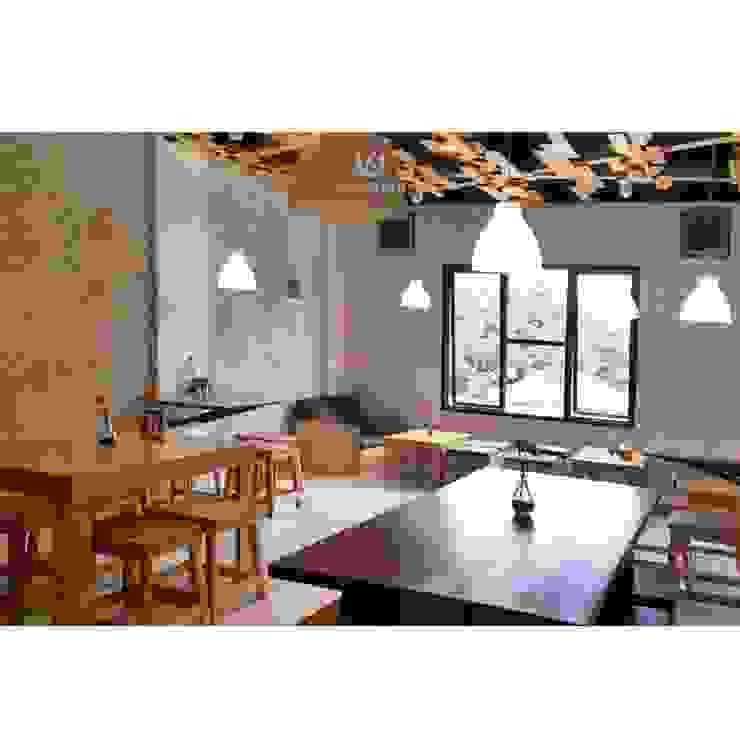Cafeeiro 11 Ruang Komersial Gaya Eklektik Oleh Studio AKU Eklektik Kayu Wood effect