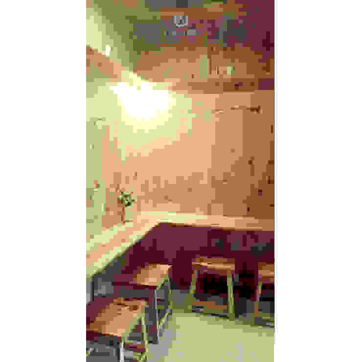 Cafeeiro 12 Ruang Komersial Gaya Eklektik Oleh Studio AKU Eklektik Kayu Wood effect