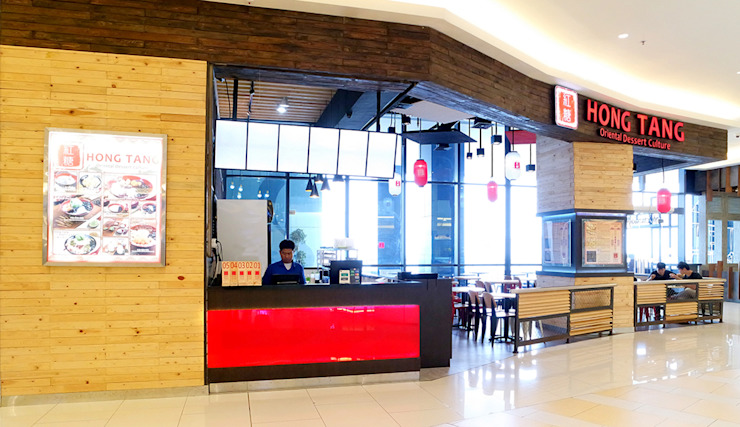 HONG TANG Baywalk Mall Pluit Ruang Makan Gaya Industrial Oleh Evonil Architecture Industrial