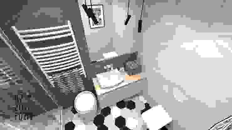 Baños de estilo escandinavo de Katarzyna Piotrowiak Pure Form Escandinavo