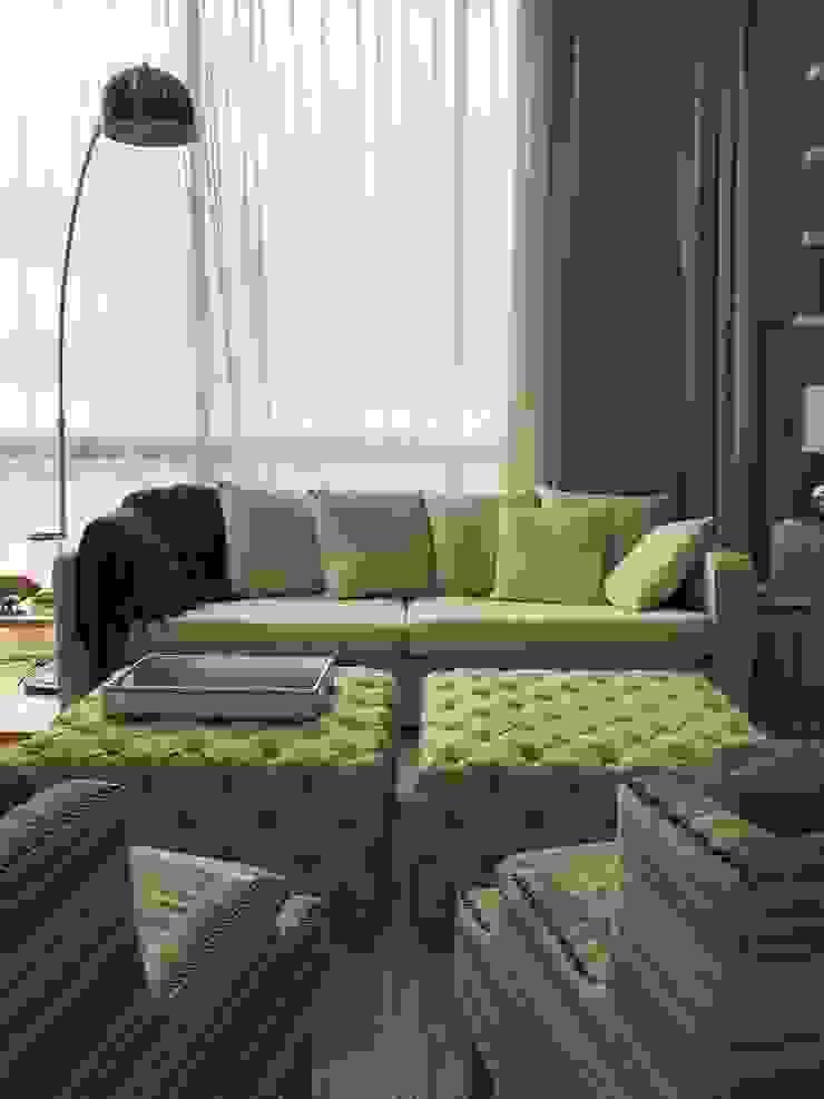 Phòng ngủ phong cách chiết trung bởi Ecologik Chiết trung