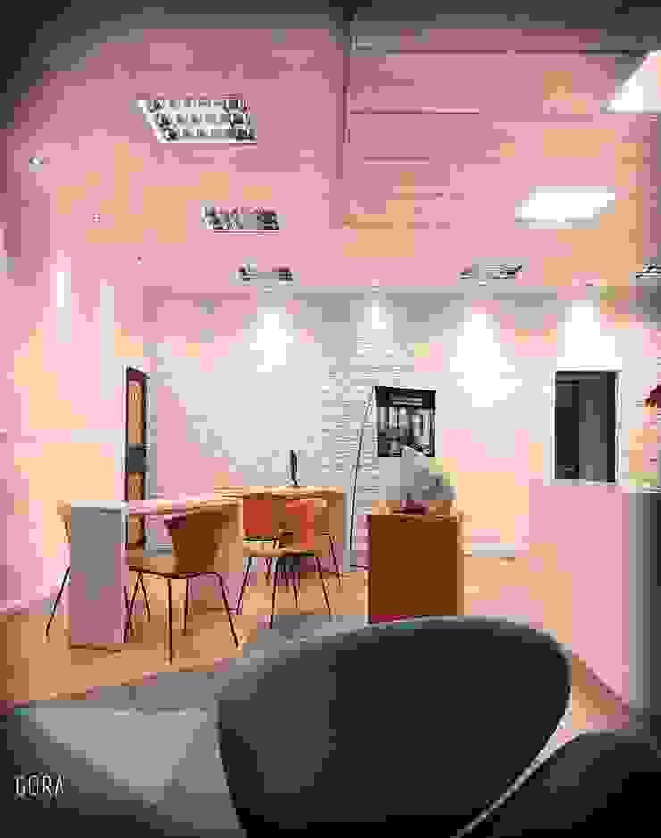 Moderne Arbeitszimmer von GORA Arquitectura 3D Modern