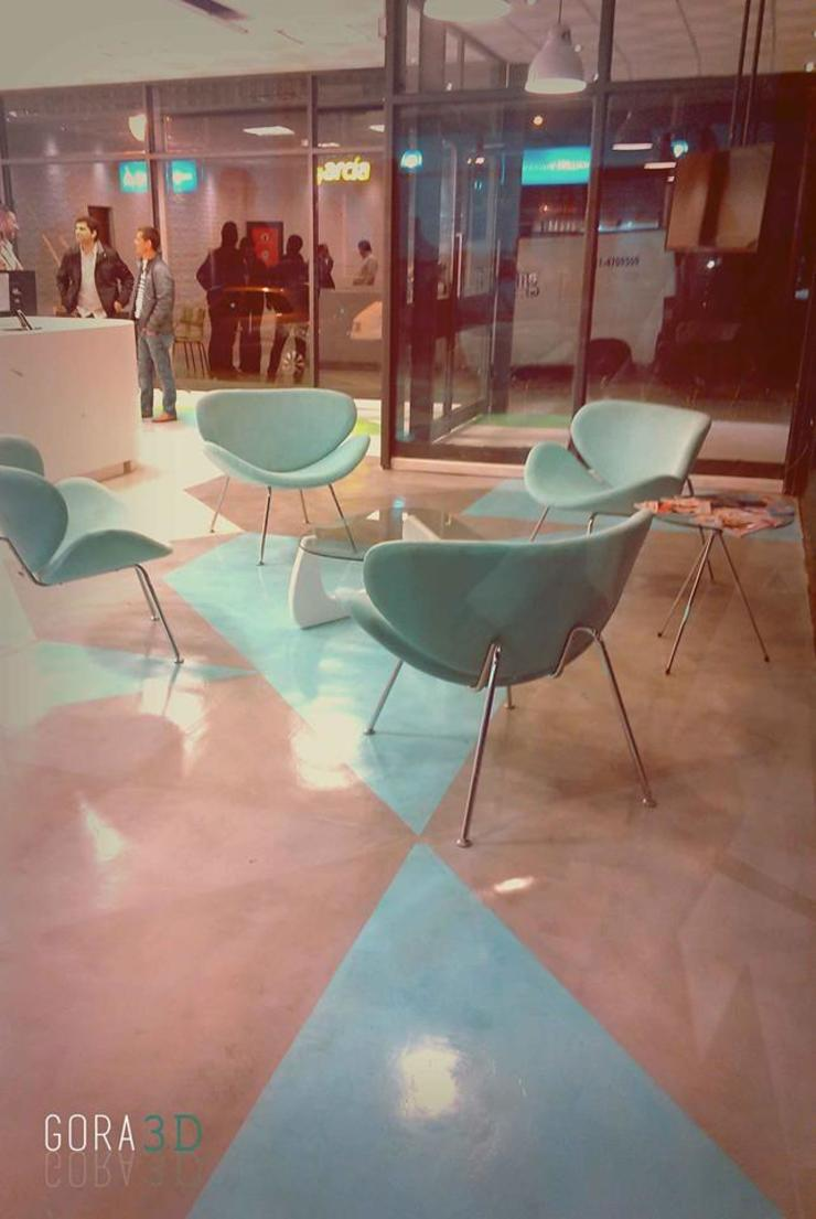 Рабочий кабинет в стиле модерн от GORA Arquitectura 3D Модерн