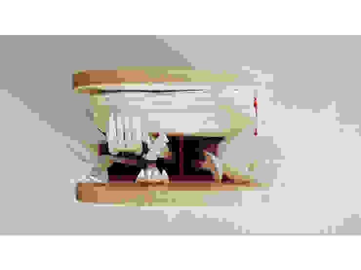 Compartimentos de Pitaya Moderno Madera Acabado en madera