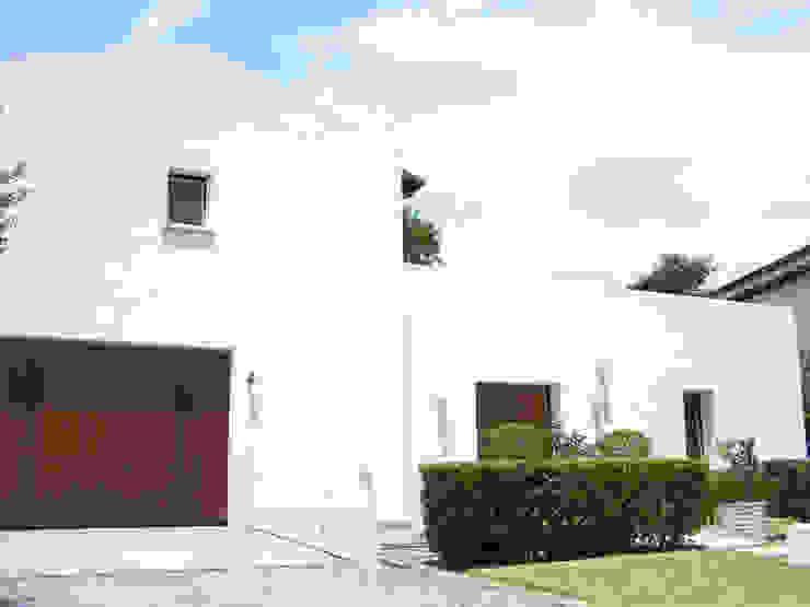 Bio Domus D.01, una casa di pregio, bioclimatica ed eco-sostenibile progettata per il comfort, l'eleganza e il benessere. Aroma Italiano Eco Design Casa unifamiliare Bianco